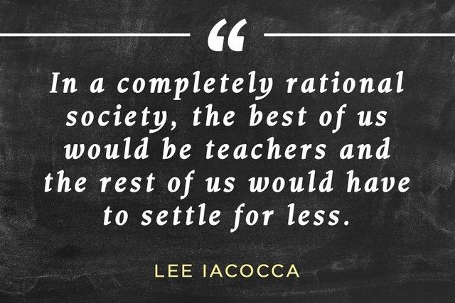 The Best Are Teachers